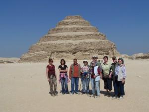Kairo Djoser Pyramiden